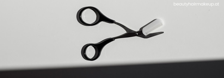 Makeup Tool Brauen kürzen schneiden