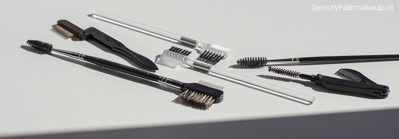 Make-up Tools Schminkuntensilien Brauenbürste Wimpernkamm