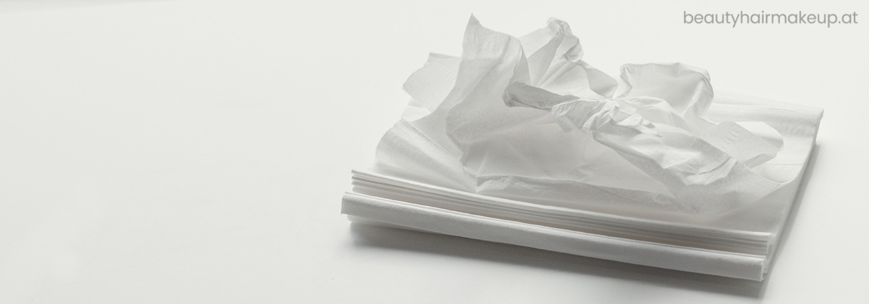 Schminkutensilien Kleenex Kosmetiktuch