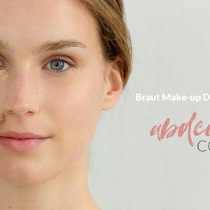 Braut Make-up: abdecken mit Concealer