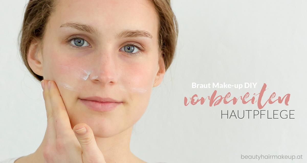 Braut Make-up selber schminken: Vorbereitung Hautpflege