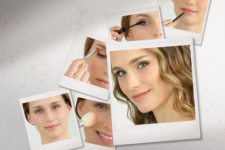 Braut-Make-up zum selber schminken Anleitung