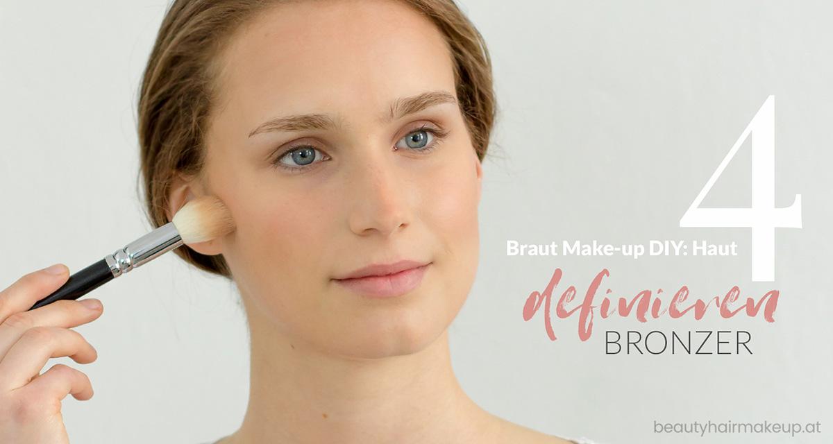 Braut Make-up selber schminken: definieren konturieren
