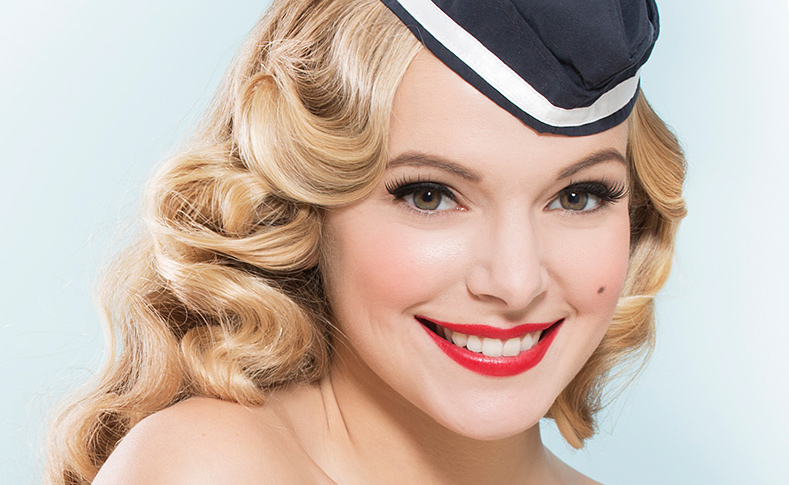 Makeup-Wien-Pinup-Style
