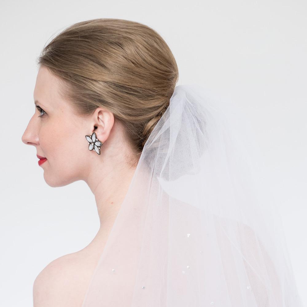 Klassisches Brautstyling Haare und Make up in Wien