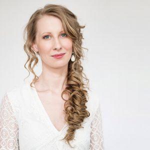 Braut Make up natürlich geschminkt Wien Hochzeitstfrisur geflochten