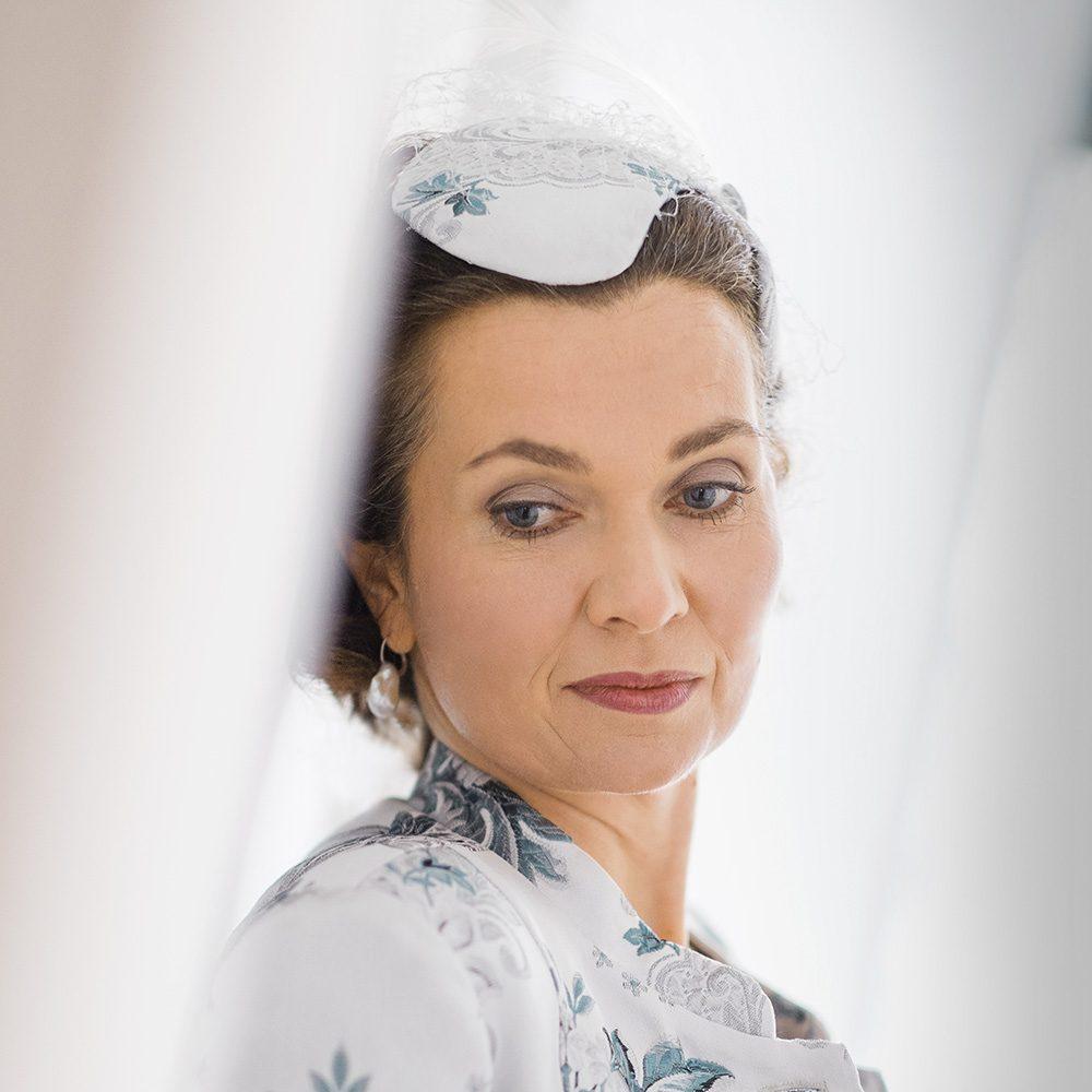 Make up und Frisur für Hochzeit Brautmutter